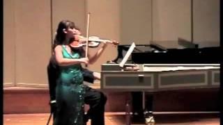 Nazrin Rashidova | Bach - Sonata No.2 in A major, BWV 1015 (2004)