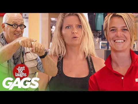 Best Of Mall Pranks | Just For Laughs Compilation
