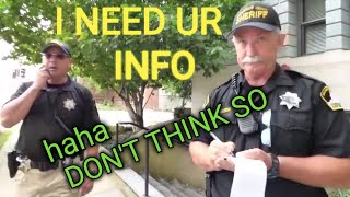 JAIL SACRAMENTO, TYRANT INTIMIDATION FAIL, 1ST AMENDMENT AUDIT w/CG, (Flashback of the Week)