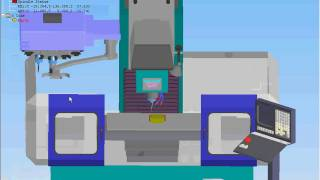 Swansoft Simulador CNC - Troca de Ferramenta