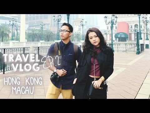 Travel Vlog to Hong Kong - Macau Ep.2 | Ririeprams [BAHASA]