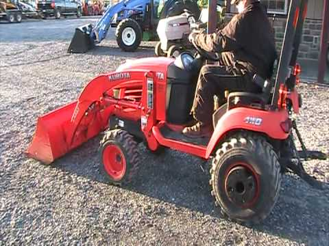 kubota bx2350 youtube