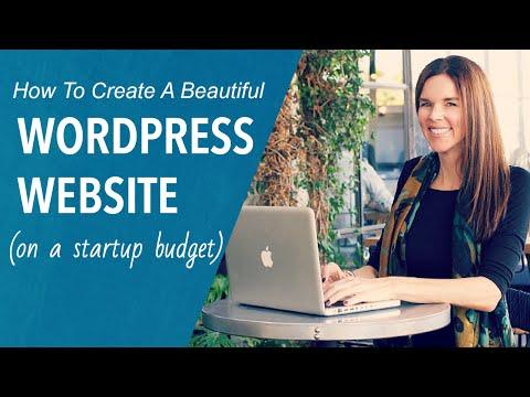Beginners Tutorial: Create A Professional Website 2016 (WordPress)