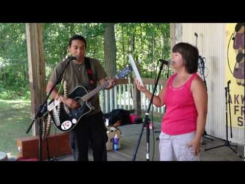 "Bear Fox + Goodshield ""Have You Ever Seen the Rain?"" - Akwesasne Freedom School Benefit"
