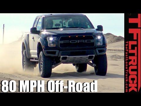 2017 Ford Raptor: 80+ MPH Baja Mode Off-Road Review
