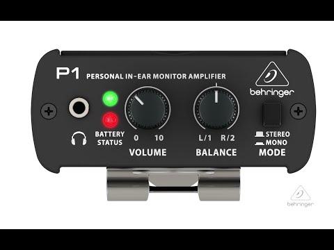 POWERPLAY P1 Personal In-Ear Monitor Amplifier