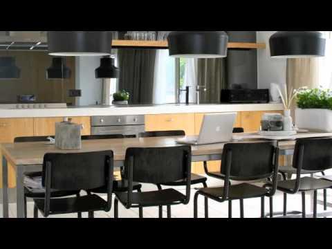 Eiken houten keukens op maat gemaakt voor Ikea kasten voor bouwval ...