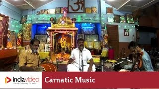 Carnatic Music - Sri Chakra Raja Simhasaneshwari By Renjith Rajasekharan | India Video