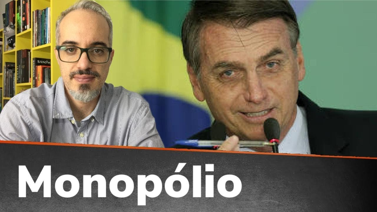 A MÍDIA NÃO MOSTROU, MAS BOLSONARO QUEBROU O MONOPÓLIO MAIS PODEROSO DO BRASIL