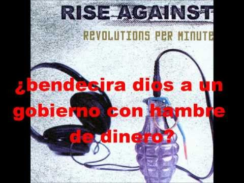 Rise Against Blood Red White & Blue sub...