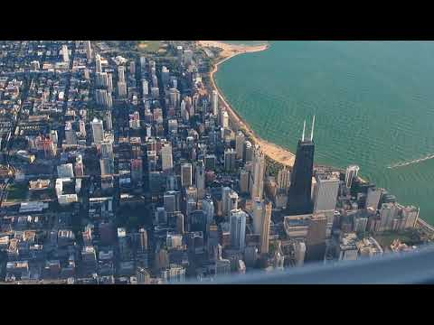2017/09/06 United Airlines 5816 Takeoff & Landing: Birmingham - Chicago O'Hare