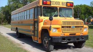 1987 Superior Ford B700 School Bus