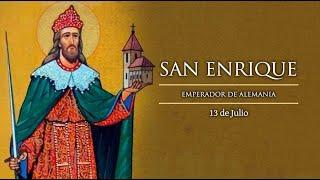 LA VIDA DE SAN ENRIQUE 13 DE JULIO