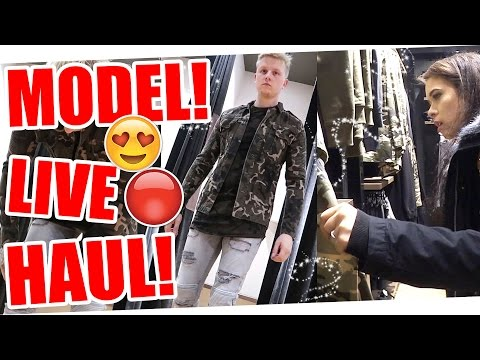 LIVE SHOPPING HAUL! ! 14.04.2017 DynamitesLife