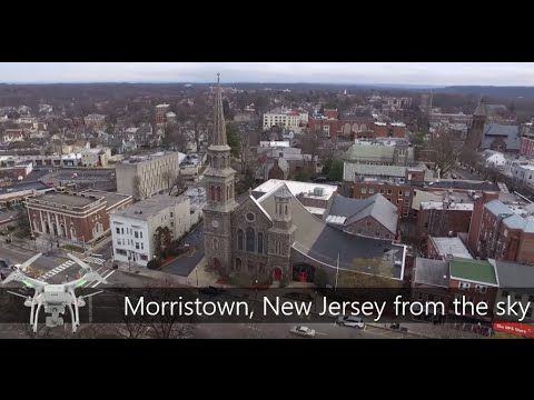 Morristown, New Jersey - Drone Video Tour