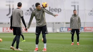 Cristiano Ronaldo Extraordinary Skills & Tricks in Training 2019