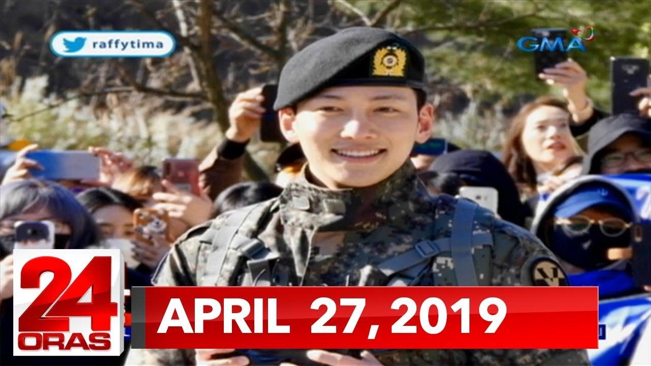 24 Oras Express: April 27, 2019 [HD] - YouTube