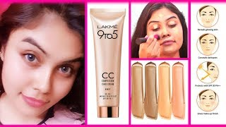 Download lagu Lakme CC Cream Review How to Apply Tips Demo Lakme 9to5 CC Cream Diwali Ishita Chanda MP3