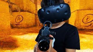 COUNTERSTRIKE IN VR !! | Pavlov VR (HTC Vive)
