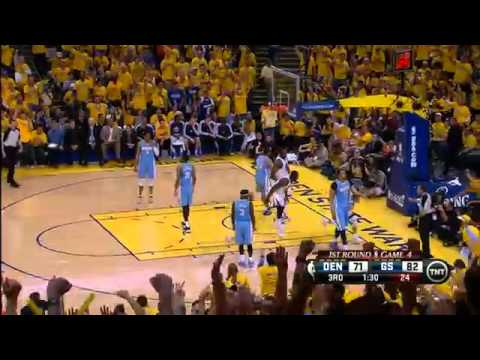 The Steph Curry Show in rare form in Warriors' win over Thunder