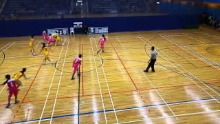 2015-16 女子學界籃球精英賽 胡兆熾中學 vs 漢華中學 第3節b