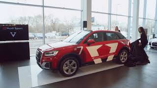 Keszthelyi Vivien - Sajtótájékoztató az Audi Centrum Budapest szalonjában