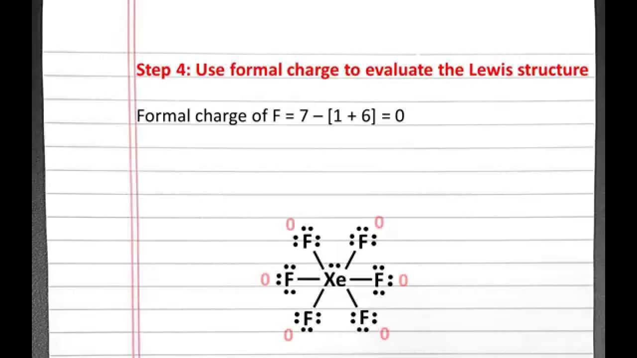 Chemistry 101 Drawing Lewis Structures Exceptions Xef6