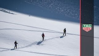 tag heuer   patrouille des glaciers episode 2 first day of training