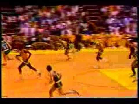1985-86 Boston Celtics @ Los Angeles Lakers (1st Half)