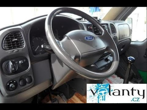 Ford Transit 150 >> Como desmontar el volante de una Ford Transit 2000 - 2005 - YouTube