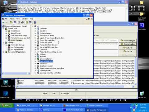 Video Tutorial Flashing Acer Z120 By Dhamma