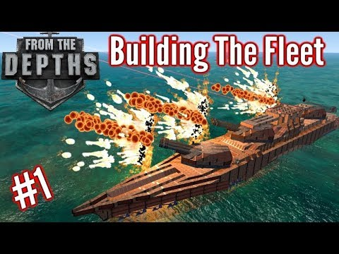 Building The Fleet | #1 | 'Beginner' Ship! (Cram - Torpedo Ship!) | From The Depths