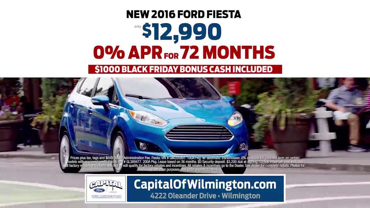 Capital Ford Wilmington >> Capital Ford Lincoln Of Wilmington Year End Event Fiesta And Focus