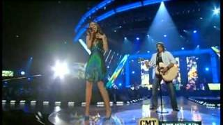 Miley Cyrus ft. Billy Ray Cyrus - Music Awards - Get ready, get set, don't go 2008