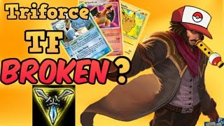 new broken trinity force tf build viable adc now korean triforce twited fate montage