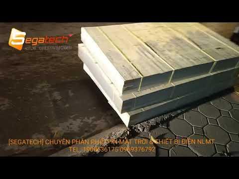 [Segatech] COD Viettel, Đóng Gỗ & Giao 12 Tấm Pin 285W Cho Khách Hàng Tại Đà Nẵng