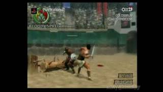 Colosseum: Road to Freedom PlayStation 2 Trailer - Trailer