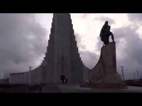 Reykjavík, Iceland - Hallgrímskirkja HD (2014)