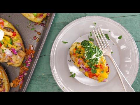 Audrey Johns' Overloaded Baked Potato
