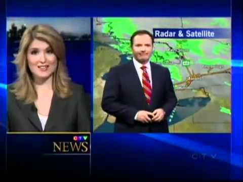 CTV Canadian weatherman joins news blooper hall of fame ...
