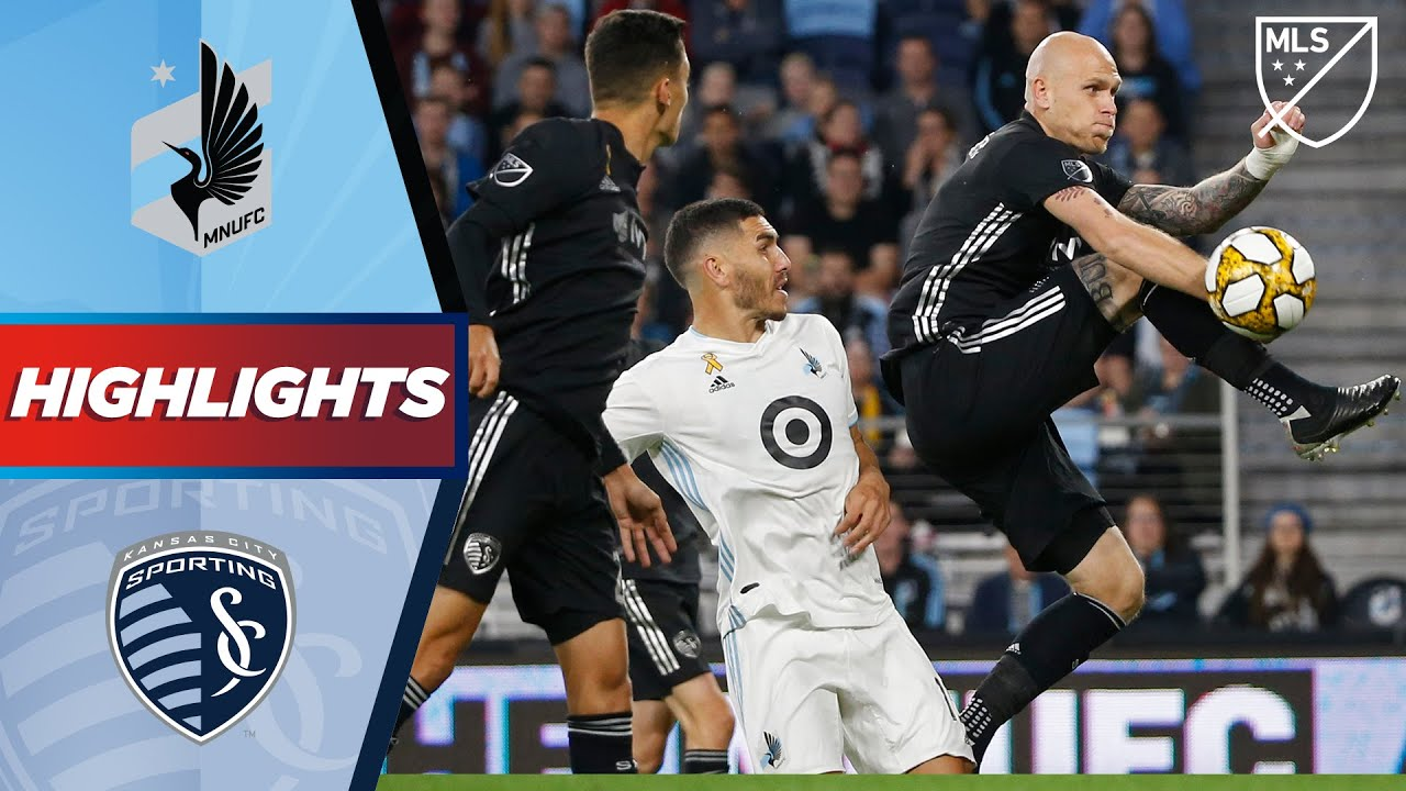 Minnesota United FC vs. Sporting Kansas City | A Stoppage Time Red Card! | HIGHLIGHTS