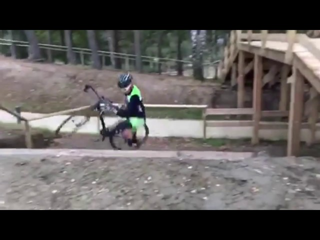 Cyclocross motivation / Thibau Nys national championship 2017