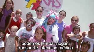 Movimiento RAS x los niños con cáncer [PAYASITA MOTITA] Pinta Caritas Profesional