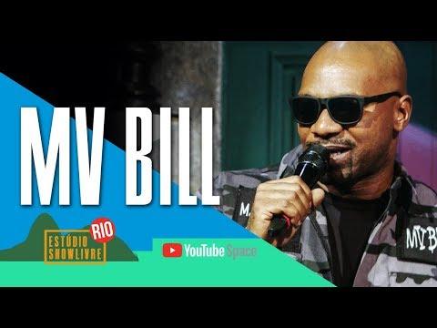 """""""Um só coração"""" - MV Bill no Estúdio Showlivre no YouTube Space Rio 2017"""