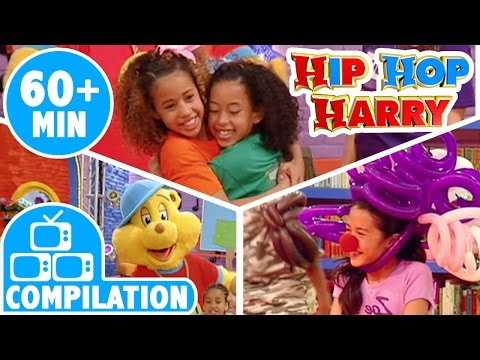 Fancy Footwork & Get Involved & Hip Hop Big Top | Compilation | From Hip Hop Harry