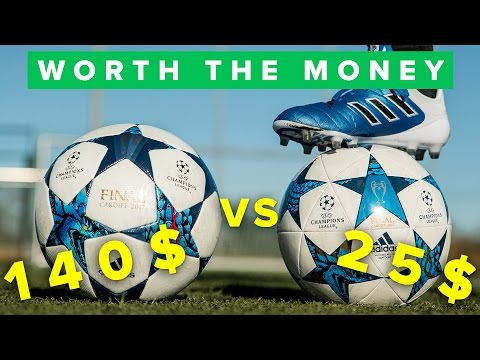 25$ vs 140$ FOOTBALL - BETTER?!
