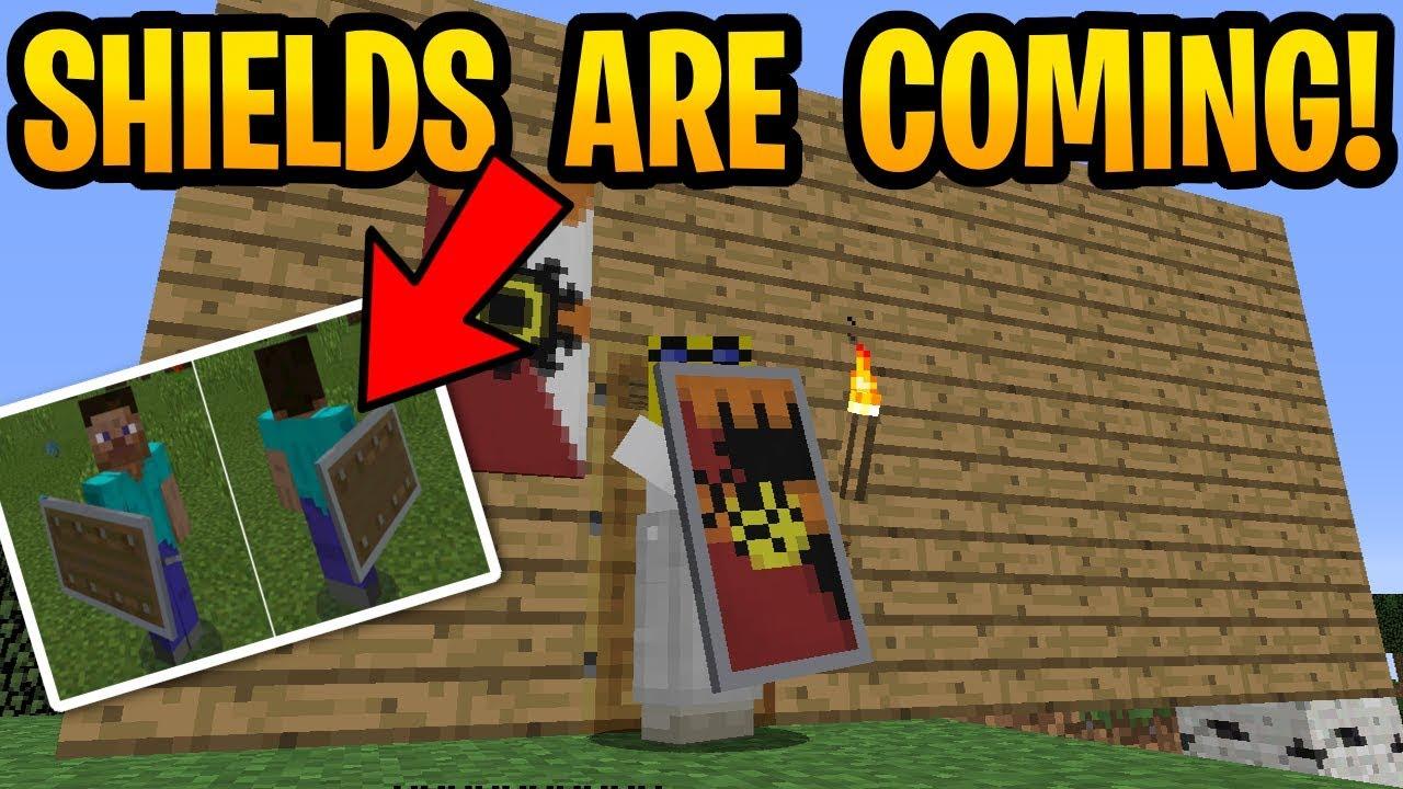 How to make a custom shield in minecraft windows 10