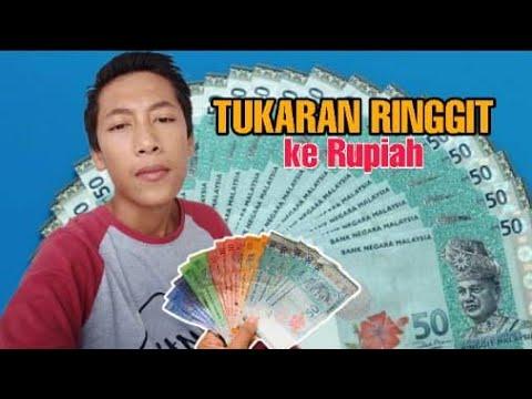 Tukaran Uang Ringgit Ke Rupiah Terbaru Hari Ini 18 April 2020 Vlog Tki Malaysia Youtube