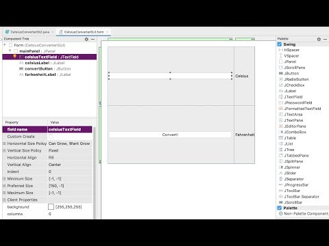 How To Build A Swing GUI With IntelliJ IDEA