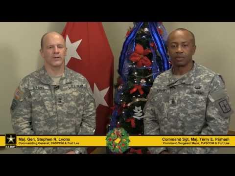 Fort Lee 2014 Holiday Greeting - Safe and Sound